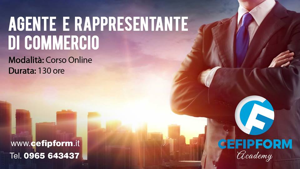 corso agente e rappresentante di commercio online