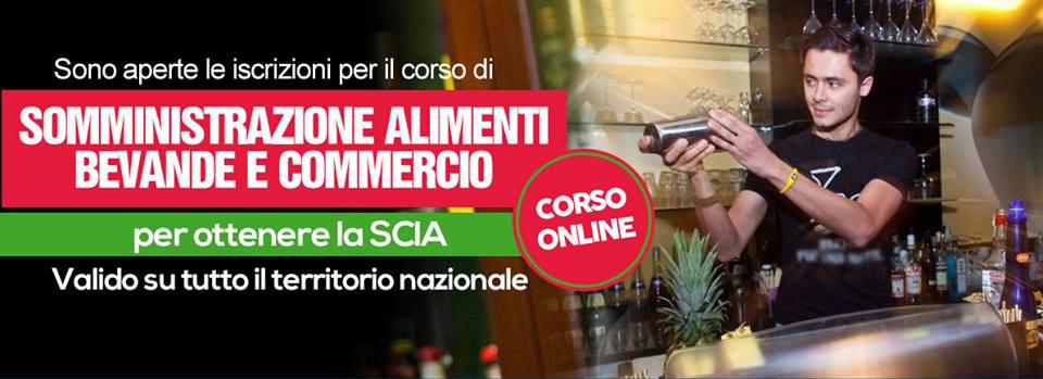 Attestato SAB online ex REC online Somministrazione Aalimenti e Bevande