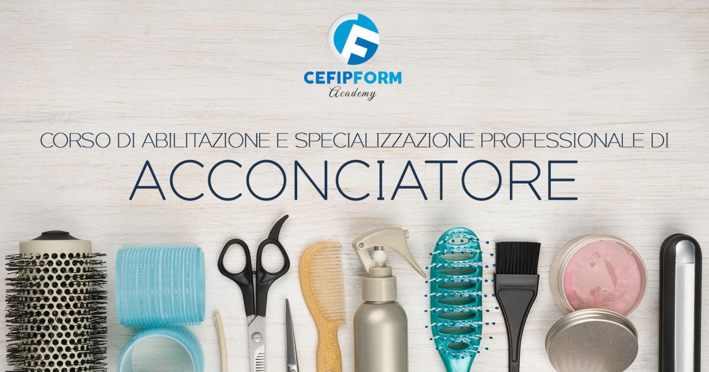 cefip form corso specializzazione acconciatore online abilitazione parrucchiera online